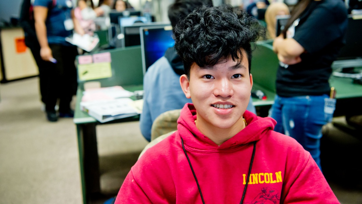 High school student enrolls at CCSF