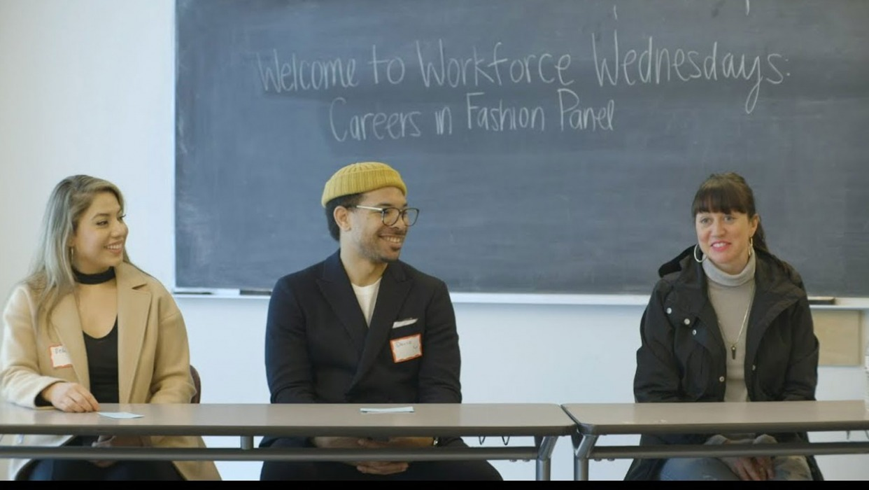 Career panel presents at workforce wednesday