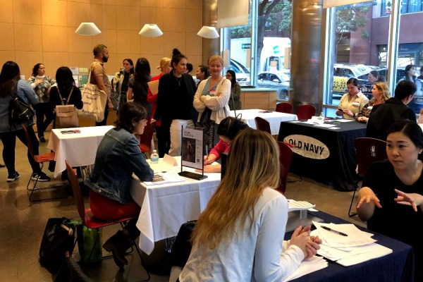 Students participate in Fashion Career Fair