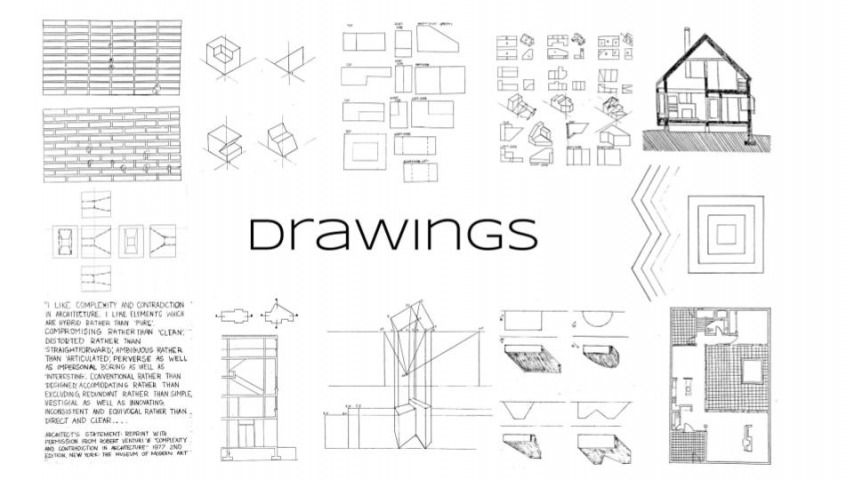Arch 20 - Architectural Graphics - Hand Drafting