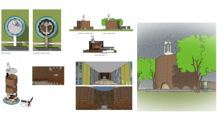 Arch 20 - Architectural Graphics - Plans / Section / Elevation / Axon / Perspective